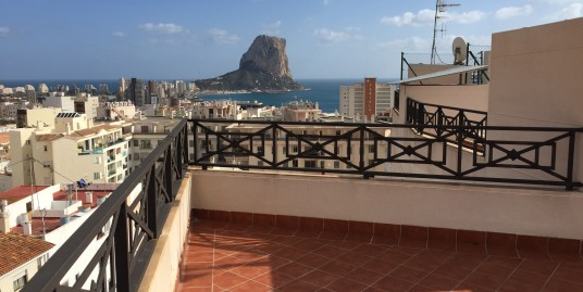 2 Bedroom Penthouse Apartments for sale Calpe Old Town