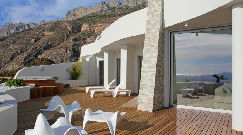 Altea Hills New Build Luxury Apartments For Sale