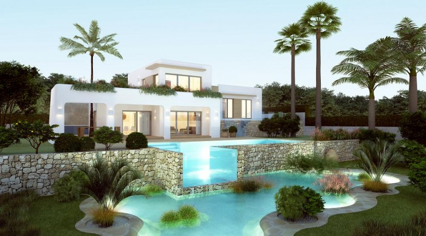 New Build 3 Bed Villa For Sale Javea