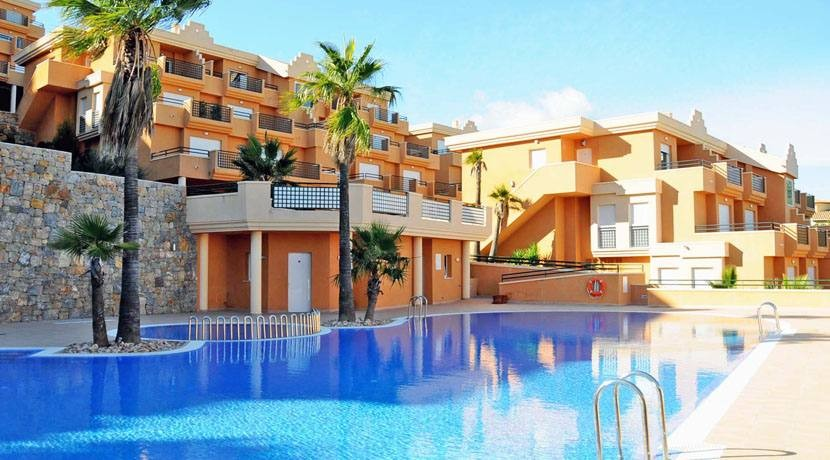 2 Bed Penthouse Apartment For Sale La Sella Golf Resort