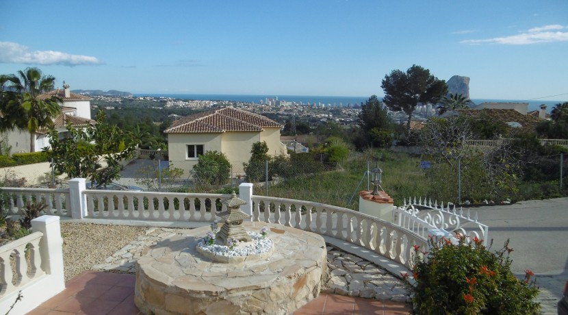 4 Bed Villa For Sale Calpe With Great Views
