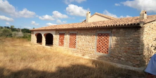 Traditional Finca for Sale Under Construction Benissa