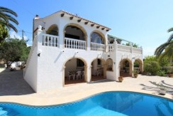 Spacious 4 Bed Villa For Sale Calpe