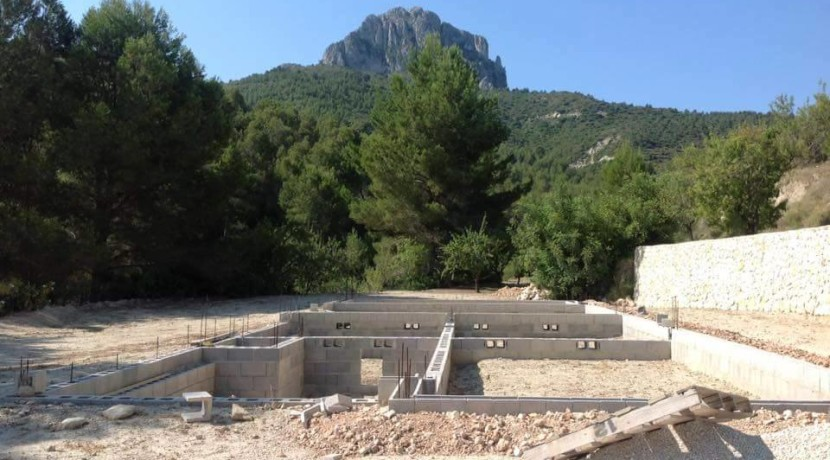 Large Plot of Land For Sale Calpe