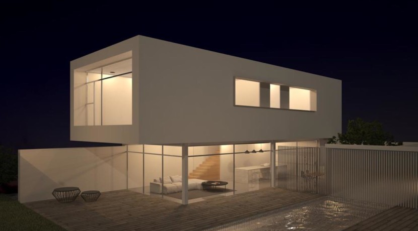 New Build 3 Bed Villa In Moraira
