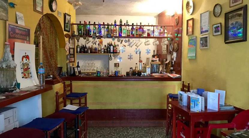 Popular Bar With 1 Bed Apartment For Sale Old Town Calpe